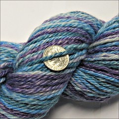 Drake's Bay handspun, close up