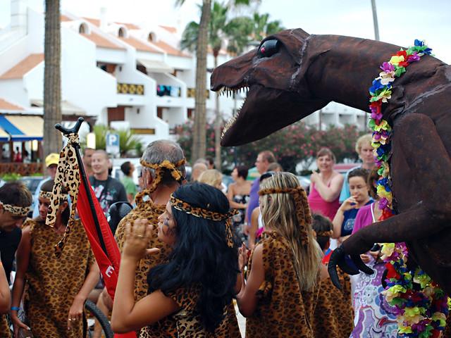 Carnival procession, Playa de las Americas, Tenerife