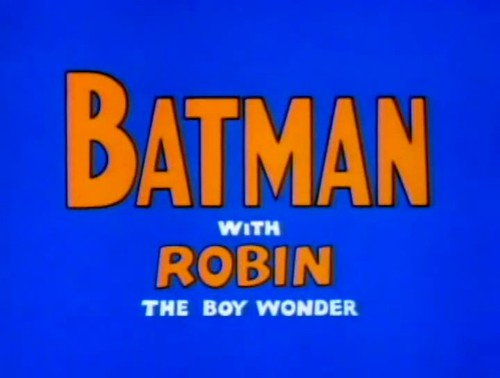 Batman Cartoon (The Adventures of Batman) (1968)