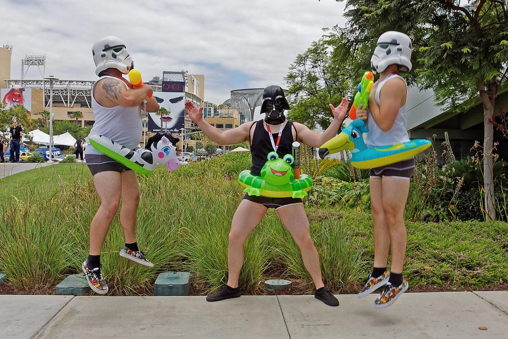 Force Choke Pool Party