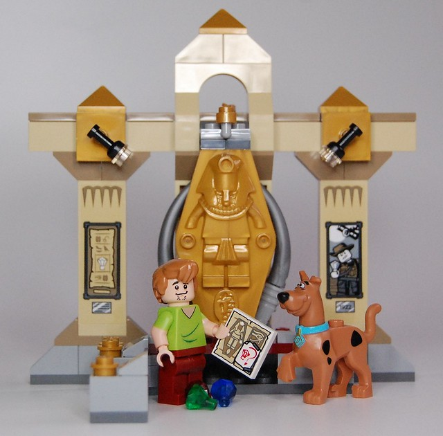 Review - 75900 Scooby-Doo:Mummy Museum Mystery από BRICKSET 19677904109_b6c29d6e9a_z