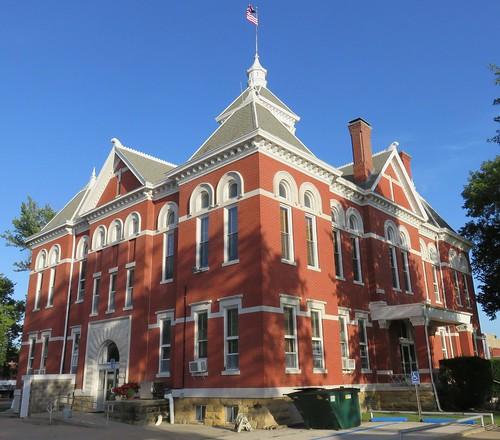 ks kansas courthouses yatescenter countycourthouses woodsoncounty uscckswoodson georgepwashburn