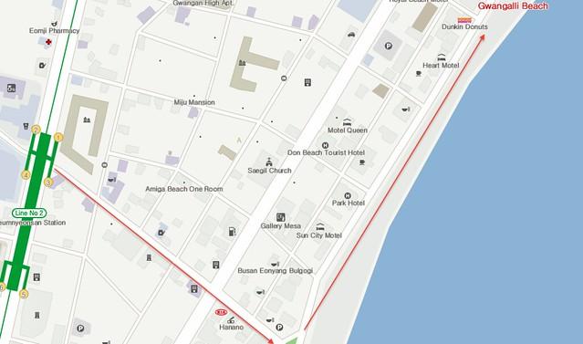 Gwangalli-beach-map