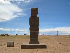 Ponce stela Tiwanaku
