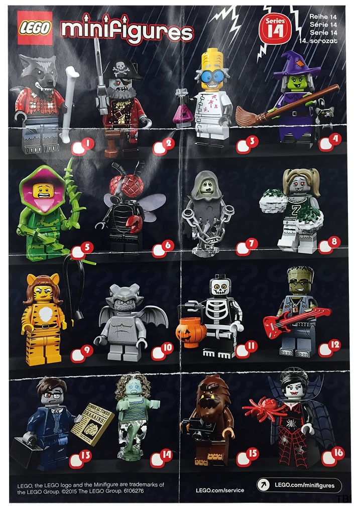 LEGO Collectible Minifigures 71010 - Series 14 (Monsters)