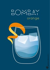 Bombay orange poster