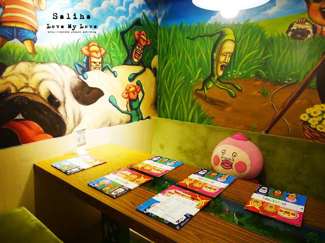 台北東區主題餐廳醜比頭的秘密花園輕食咖啡屁桃 (6)