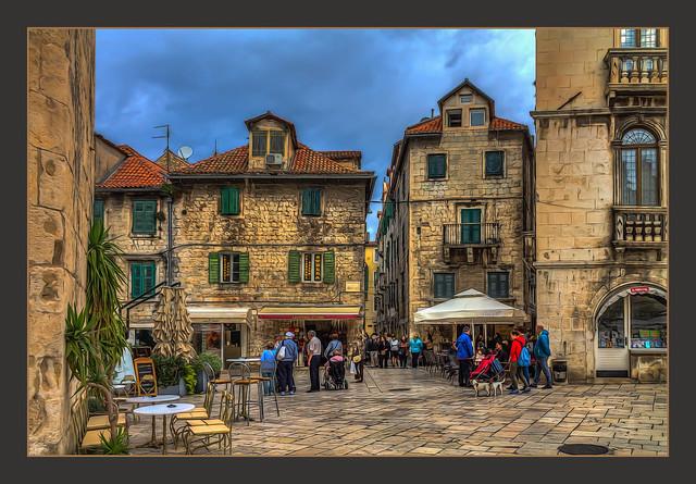 Street Life in Split