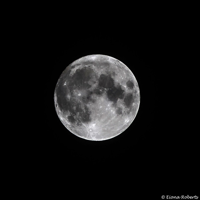 Full Wolf Moon [Explore], Canon EOS 760D, Canon EF 70-300mm f/4.5-5.6 DO IS USM