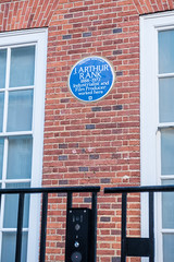 Photo of J. Arthur Rank blue plaque