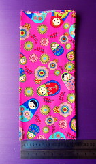 pink russian doll fabric