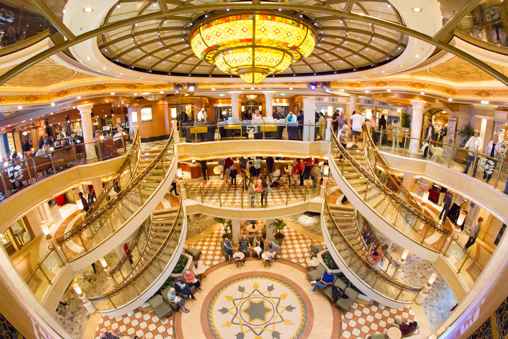 Atrium on the Ruby Princess