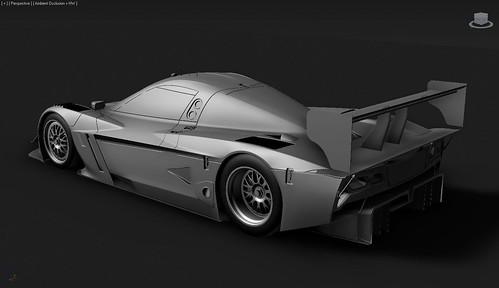 rFactor 2 2015 Corvette Daytona Prototype
