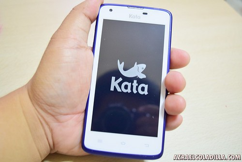 Kata F2 smartphone from Kata Digital Philippines - 4.5-inch qHD display, 1.3GHz Quad Core, 8MP+5MP Camera, Dual SIM, 1GB RAM & 8GB Storage