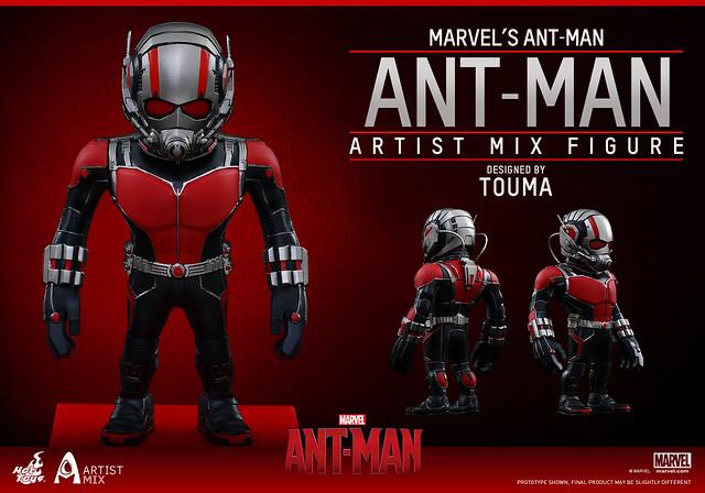 Hot Toys – AMC014 – AMC015 – 蟻人【TOUMA 限定】設計師聯名第三彈