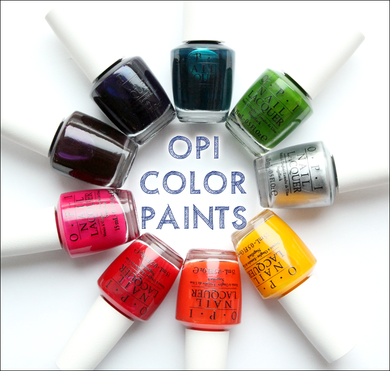 OPI color paints