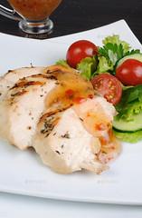 Slices of chicken fillet (Misc)
