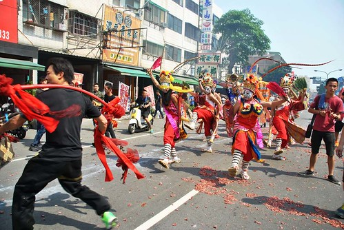 121 Procesion en honor a la diosa Matsu en Kaohsiung (14)