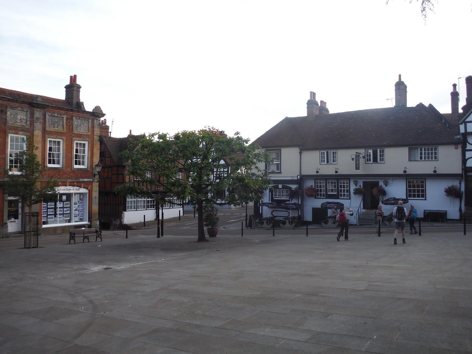 Market Place, Midhurst SWC Walk 217 Midhurst Way: Arundel to Midhurst