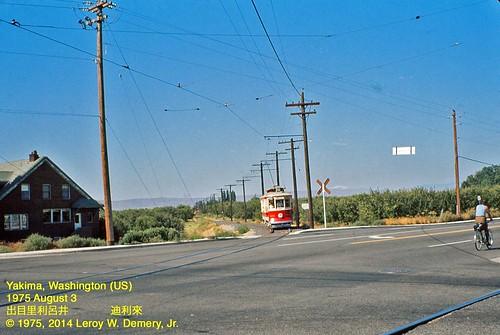streetcars tramcars vanishedscenes yakimainterurbantrolleylines yakimawashingtonus