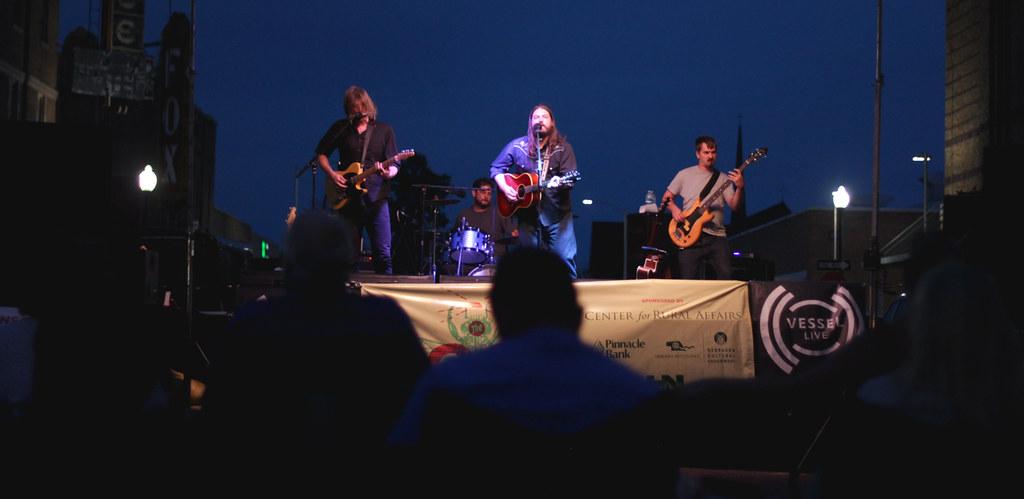 Brad Hoshaw & The Seven Deadlies   Good Living Tour   North Platte   7.22.15