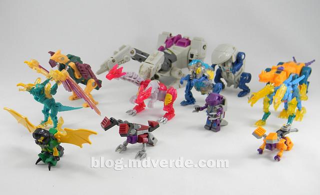 Transformers Abominus Kre-O - modo alterno vs G1 vs Beast Hunters