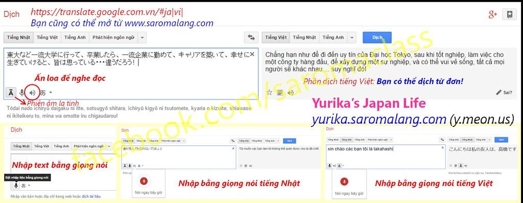 Google Translate: Cách sử dụng