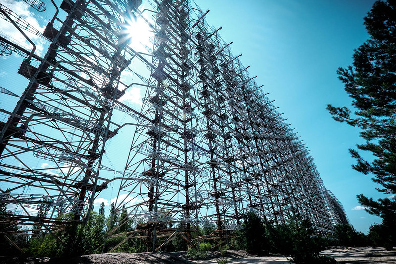 Duga 3 Radar Array Chernobyl