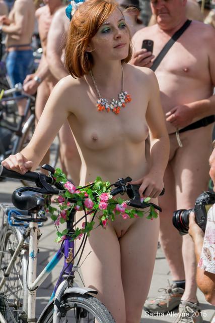 World Naked Bike Ride Bristol 2015 - By Sacha Alleyne-9068
