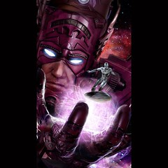 Galactus and progeny, by John Gallagher. #comics