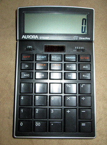 Aurora Calculator.
