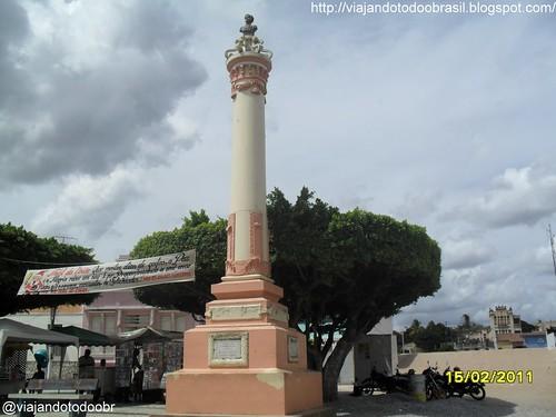 Quebrangulo - Monumento em homenagem ao 1º Centenário da Independência