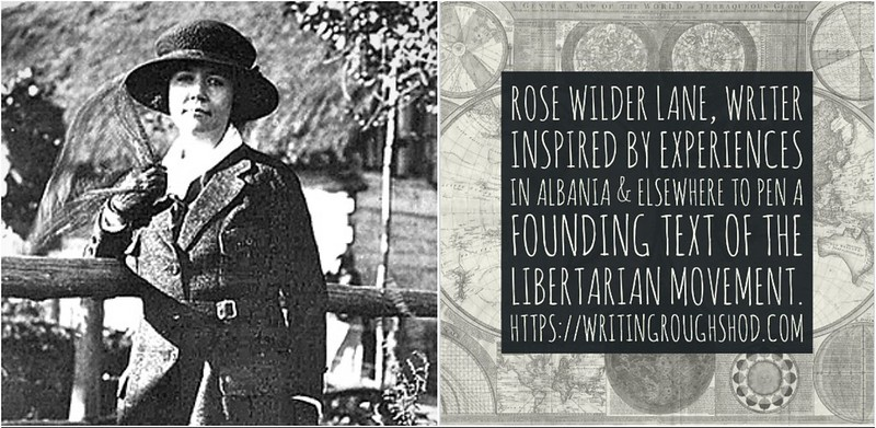 ROSE WILDER LANE #100travelHERS