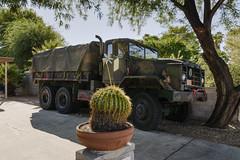 Troop Carrier in Driveway