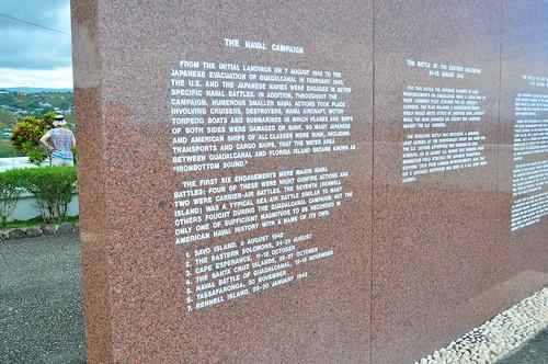 guadalcanal war memorial usa honiara solomon islands