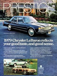 1979 Chrysler LeBaron Sedan (Canadian Ad)