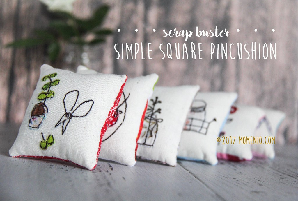 simple square pincushion