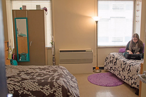 Thayer Hall Double and Triple Rooms, Point Park University