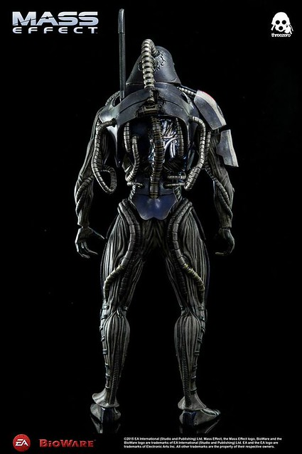 threezero 質量效應3 【Legion】Mass Effect 3 1/6 比例人偶作品