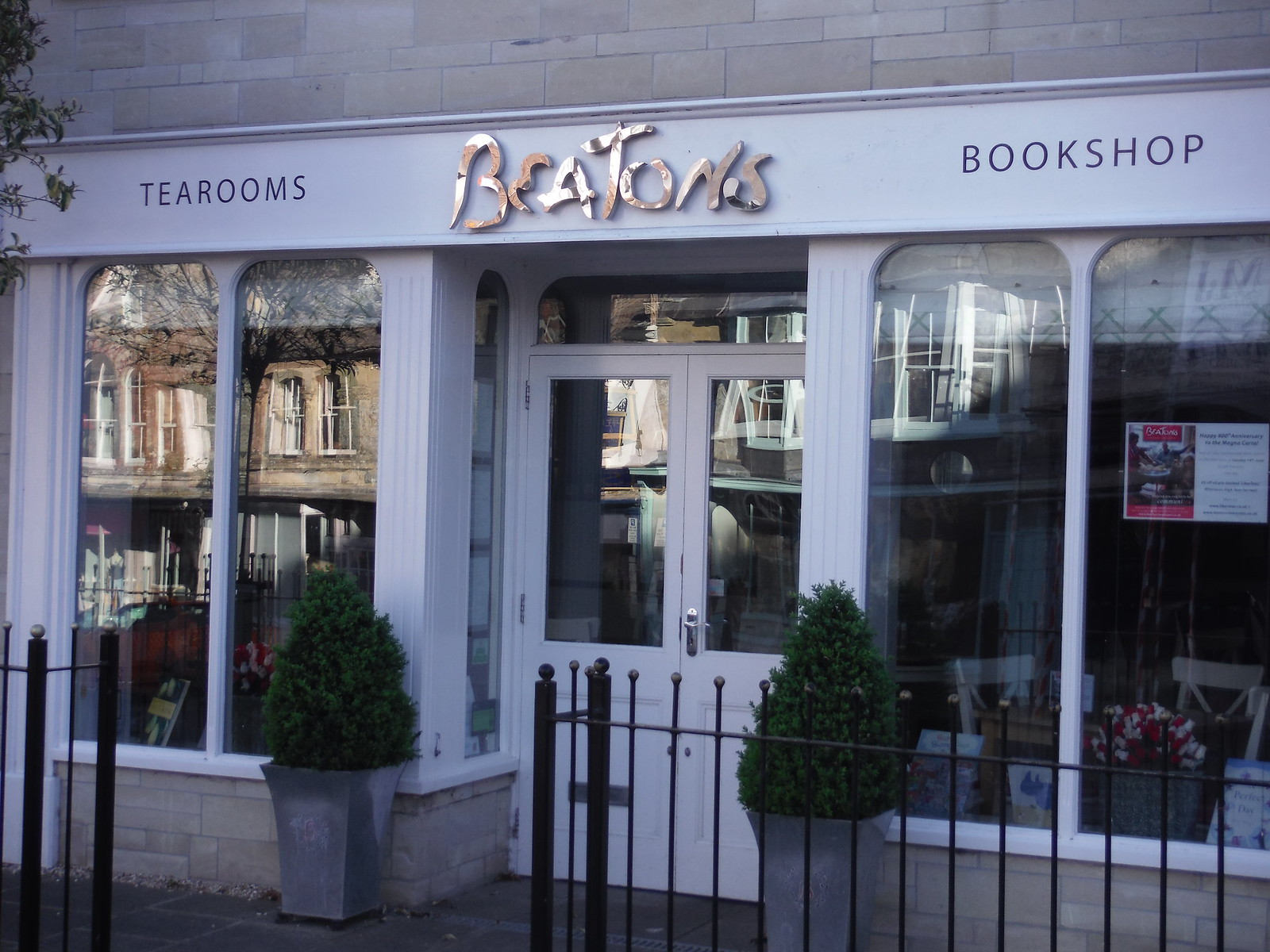 Beatons Tearooms and Bookshop SWC Walk 249 Tisbury Circular via Dinton and Fovant