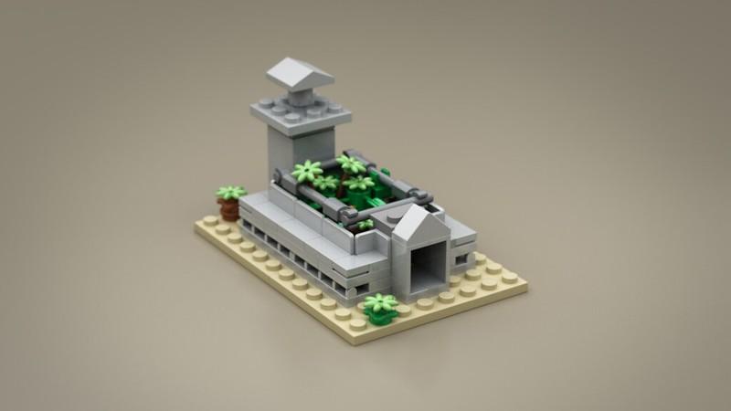 LEGO Jurassic Park Microscale | Lego Ideas - Raptor Pit