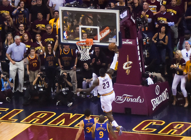 Cleveland Cavaliers vs. Golden State Warriors