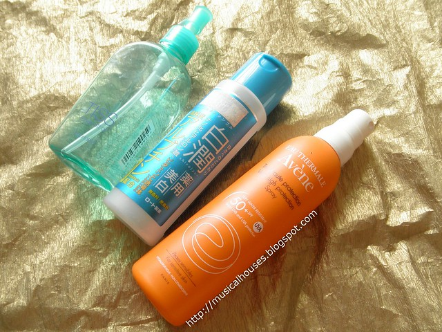 Empties Skincare Sunscreen TISS Avenee Hada Labo
