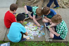 Boys Playing Pokemon