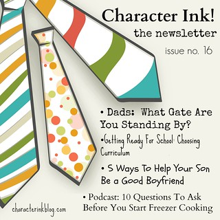 Character Ink Newsletter no. 16