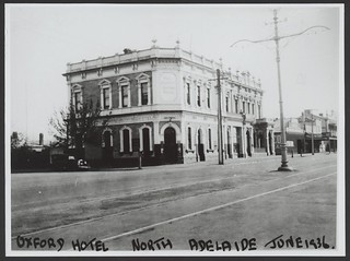 Oxford Hotel, O'Connell Street, North Adelaide, 1936