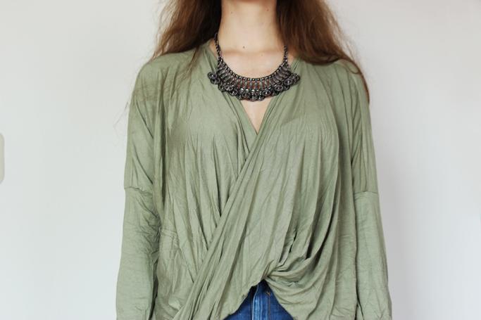 draped shirt top blouse - topshop zara oversize asos