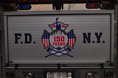 FDNY 150th Anniversary Ladder