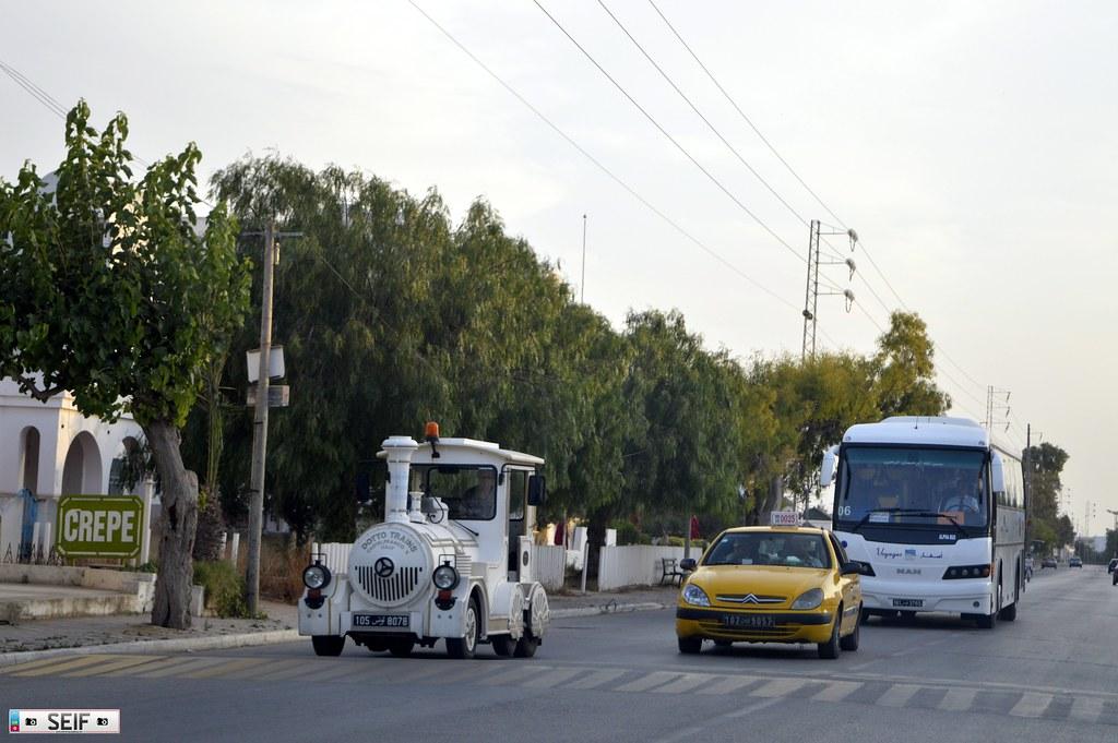 Train + Citroen XSARA Tunisia 2015