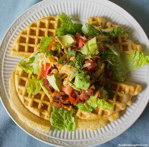 Waffle Taco Salad